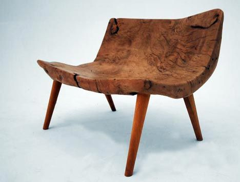 Gürsan Ergil on Designing Furniture from Reclaimed Wood: The Trees Tell Me What to Do : TreeHugger