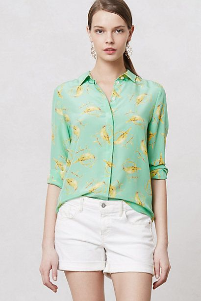 Seaside Blouse #anthropologie