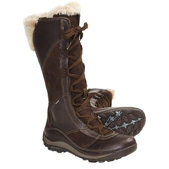 Merrell Prevoz Snow Boots - Insulated, Suede-Leather (For Women ...