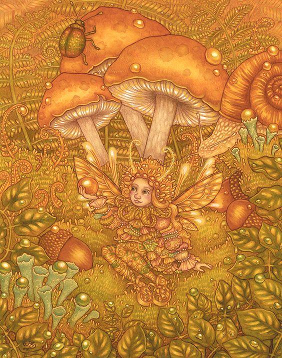 'Forest Jewels'  Rosie Lauren Smith(AutumnAlchemy)