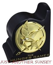 Hunger Games Mockingjay Bookend Book End Library Katniss Catching Fire NEW