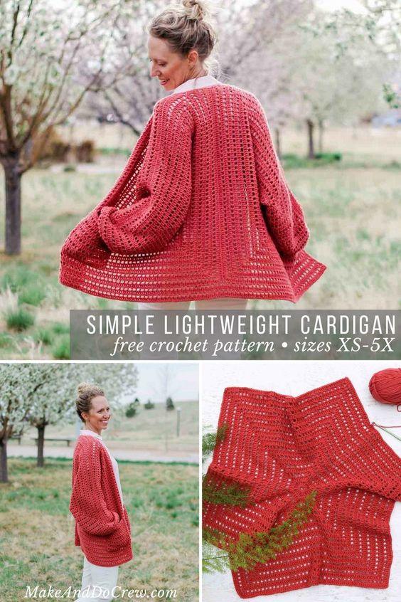 Fashionable Crochet Women Sweaters
