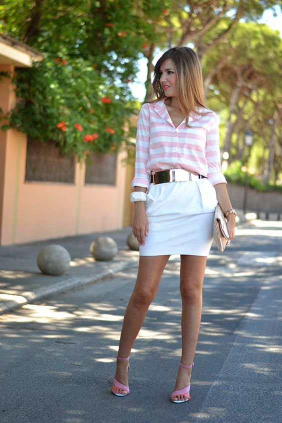 Mi aventura con la moda: WHITE SKIRT