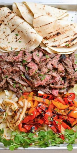 skirt steak - made for tacos tonight. Yum! J made as steak quesadillas. They looked yummy too . Gonna try to freeze the leftovers.