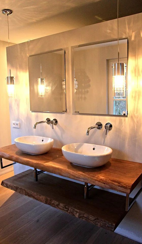 Vanity Unit Console Vanity Top Solid Wood Washbasin To Size E Idee Salle De Bain Meuble Sous Lavabo