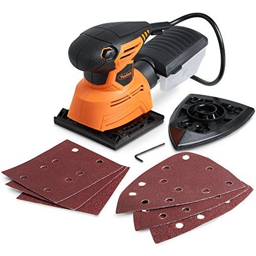 Vonhaus 2 In 1 Sheet Detail Sander 1 1a Sanding Sheets Accessories Included Multi Use Compact Lightweight Desig Detail Sander Dust Extraction Chef Knife