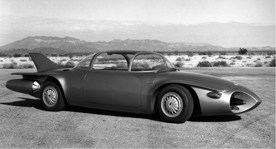 1956 GM Firebird II - Buscar con Google