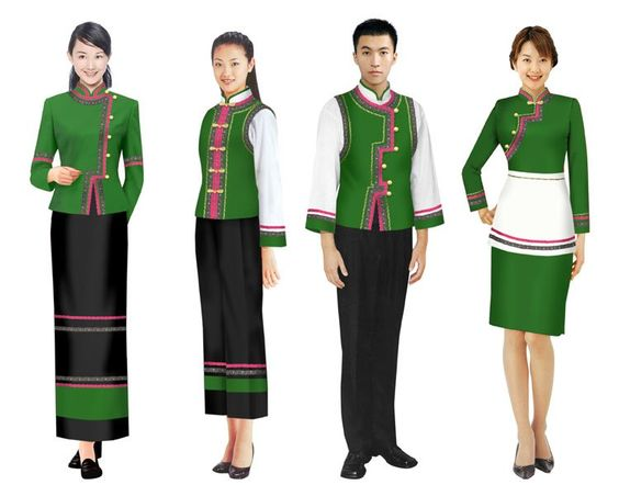 hotel uniform staff uniform make to order-in Accessories from - employee uniform form