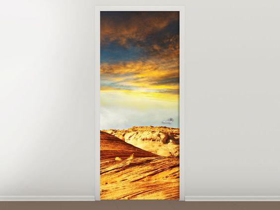 Tür #Tapete Die Wüste