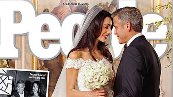 Cazuza: O espetacular vestido da noiva de George Clooney.