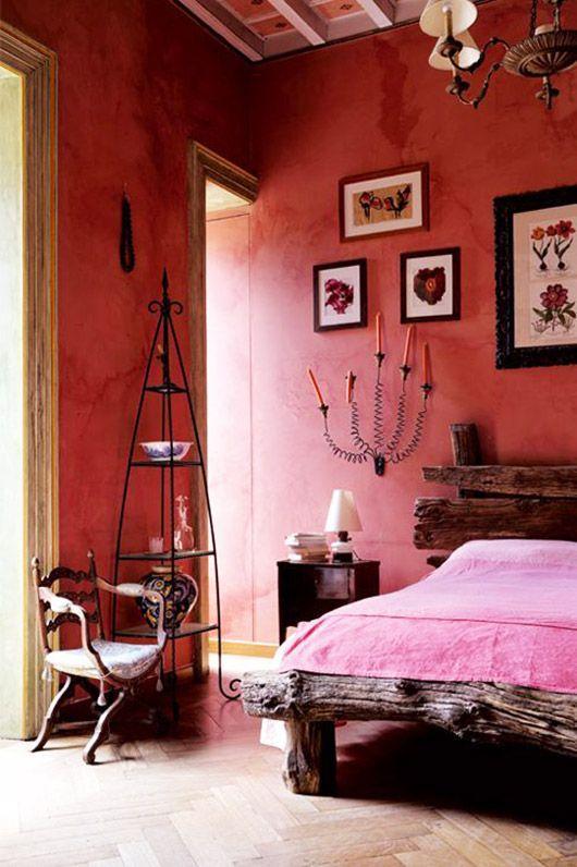 Hot Pink High Drama Bedroomdecorideas Bedroomdecorromantic Bedroomdesign Bedroomideas Schlafzimmer Design Haus Deko Coole Schlafzimmer Ideen