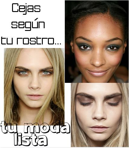 MODA LISTA   BLOG DE MODA : Cejas según la forma de tu rostro: