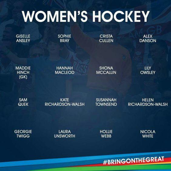 Women's Hockey - Team GB - Rio 2016