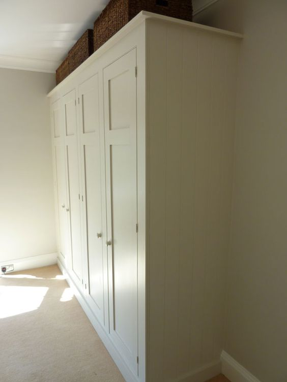Bespoke fitted kitchens and painted cupboards on pinterest for Fitted kitchen cupboards