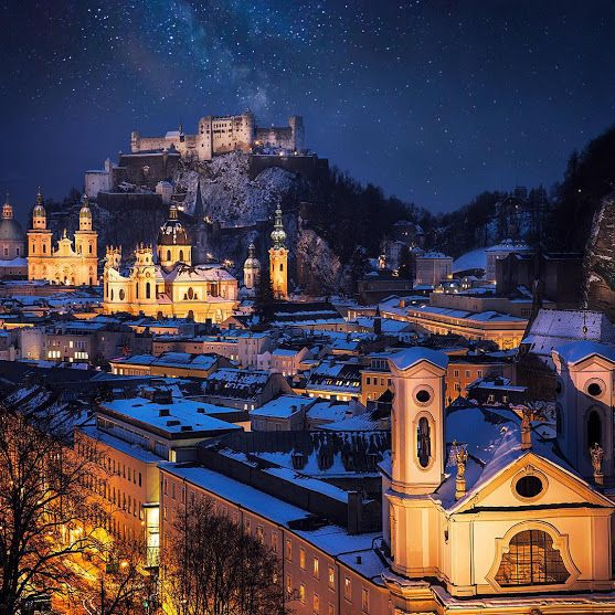 Places to See in Your Lifetime - Google+  Salzburg, Austria. Photo by Ilhan Eroglu