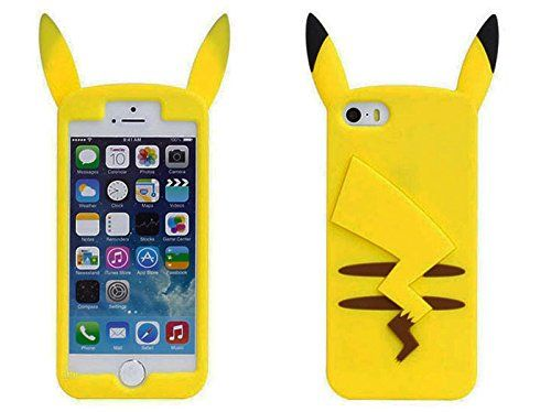 COOVER Pikachu Coque en Gel Coque Silicone iPhone 5/5S   Cute ...