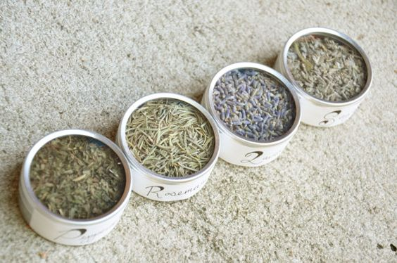 Dried Herbs: Lavender, Peppermint, Sage, Rosemary