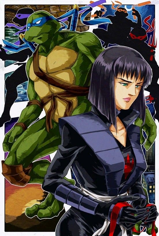 Tmnt 2003 Tmnt Villains Tmnt Cartoon Turtle