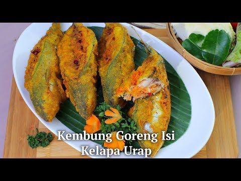 Kembung Goreng Isi Kelapa Urap Youtube Makanan Dan Minuman Masakan Resep