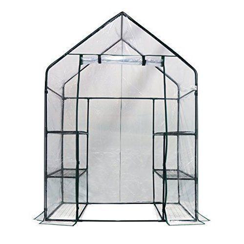 OGrow Deluxe Walk-In 3 Tier 6 Shelf Portable Greenhouse