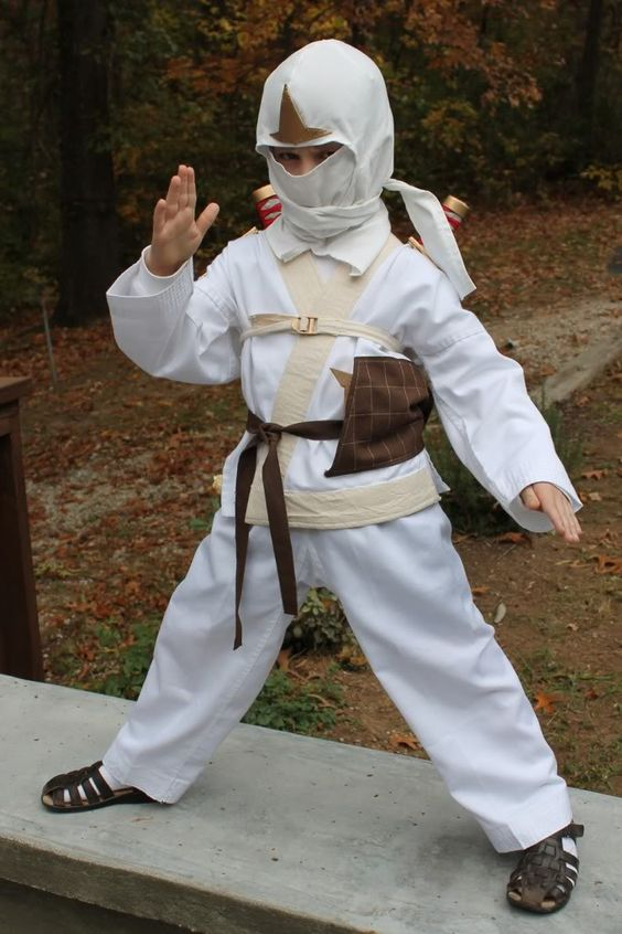 Kai, Lloyd  Zane from Ninjago childs costume thread