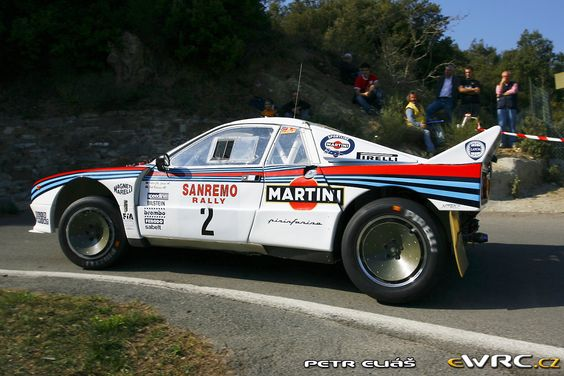 Lancia  Rally 037 Stradale Martini Racing