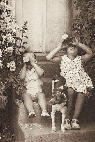 +~+~ Vintage Photograph ~+~+ Handmade Kaleidoscopes