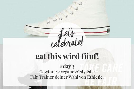 Blog-Geburtstag #eatthis #Ethletic #giveaway