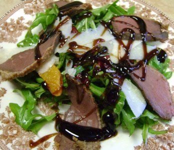 Smoked Goose or Duck Salad - YUMMY!