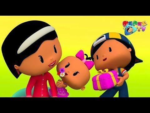Pepee Anneler Gununu Kutluyor Cocuk Sarkisi Cizgi Film Dusyeri Youtube Film Cizgi Film Youtube