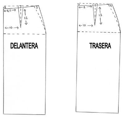 falda tubo...PATRON2