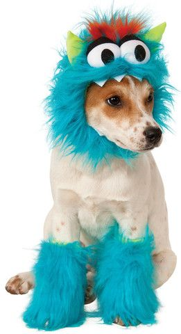 Blue Monster Pet Costume