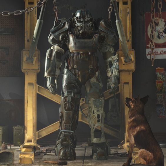 Fallout 4 Character Design Tips : Fallout t power armour ht armors pinterest