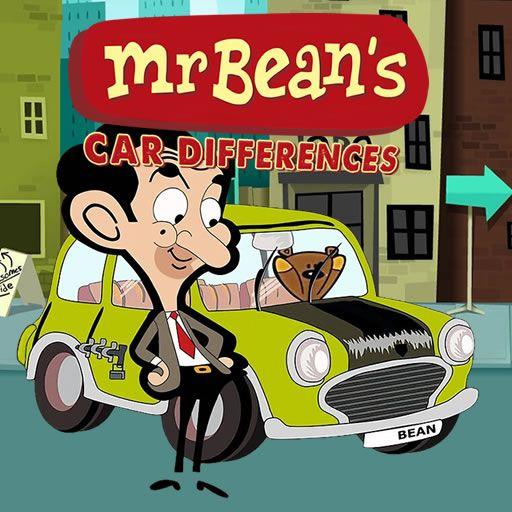 لعبة الاختلافات في صورة سيارة مستر بين Mr Bean S Car Differences In 2020 Character Cartoon Family Guy