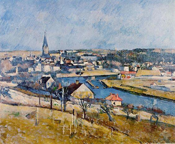 Paul Cézanne - Paysage d'Ile de France, c. 1880