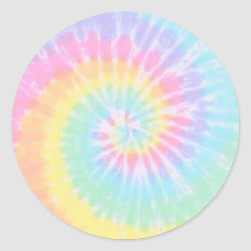 Pastel Tie Dye Sticker Zazzle Com In 2020 Tie Dye Sticker Tie Dye Painting Tie Dye Wallpaper