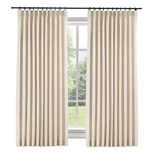 Pin On Drapes Extra wide pinch pleat drapes