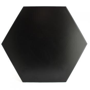 Hexágono cerámico negro HC29 004 25x29x1cm | Tienda de Cerámica Online - Venta Cerámica Online - Comprar Cerámica Online