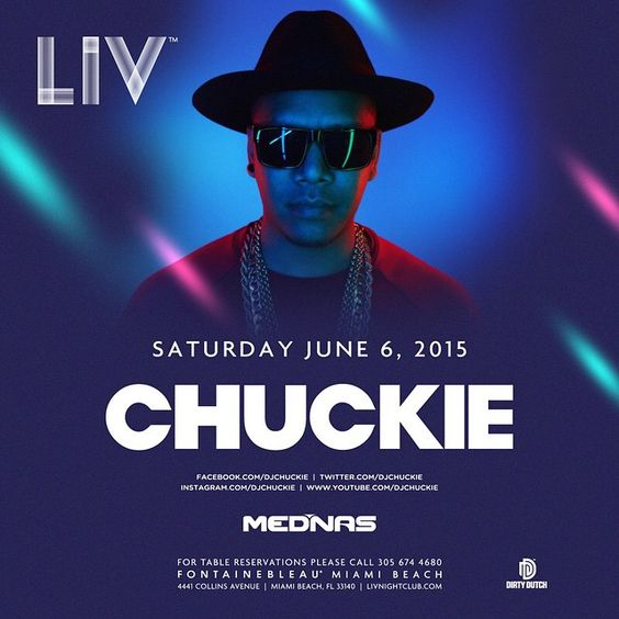Saturday Night with @DJChuckie & resident @Mednas! #onlyatLIV #DIRTYDUTCH