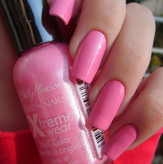 Famous Sally Hansen Hd Nail Polish Big Nail Fungus Polish Prescription Round Opi Nail Polish Matte Nail Art Polishes Young Nail Polish Color Combinations RedNail Art Designs For Fourth Of July Sally Hansen: Bubblegum Pink   My New Favorite Pink Nail Polish ..