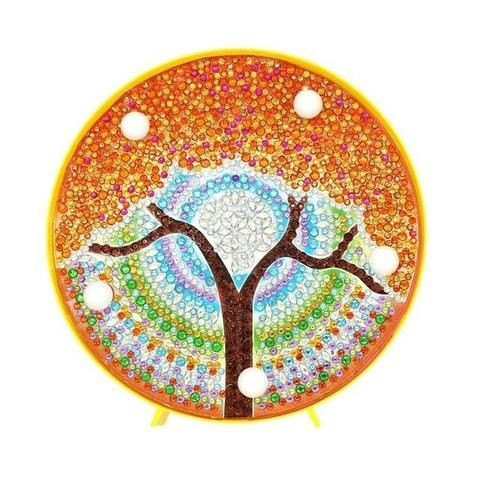 DIY 5D Painting with Diamonds Full Drill Diamond Dots Rhinestone Picture Tree2