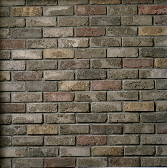 Brick styles and colors cultured brick used brick for Brick selection for houses