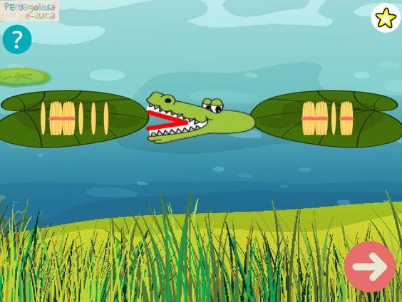 El cocodrilo come-palillos (1-100)