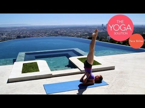 Routine for a Deep Sleep   The Yoga Solution With Tara Stiles (posted 10/11/12, 11 mins)