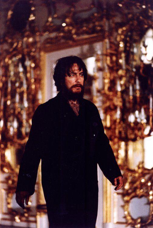 Grigori Rasputin - Alan Rickman in Rasputin: Dark Servant of Destiny (1996).: