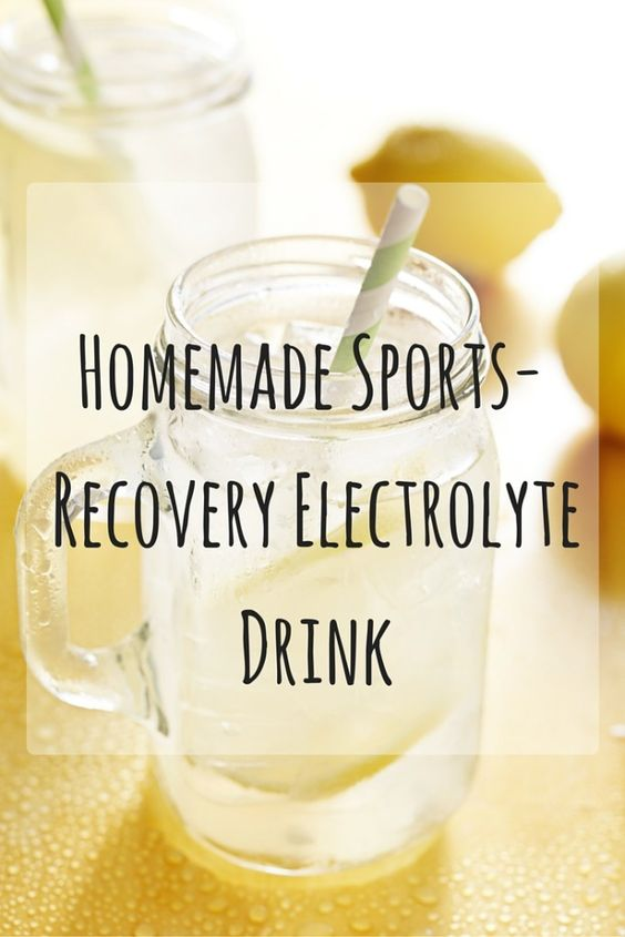 Homemade Electrolyte Drink Recipe for Runners