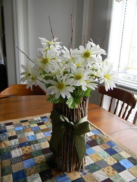 Yearning to Create: Twig Vase