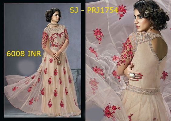 The fashion industry has revived the trend of floor-length anarkali and has turned it into remarkable Indian attire reflecting both classy and contemporary look. Check out the authentic collection of intricately embroidered and wonderfully designed floor-length salwar suit housed at MohiniSareeOnline for enhancing your appearance and making you look like a DIVA…