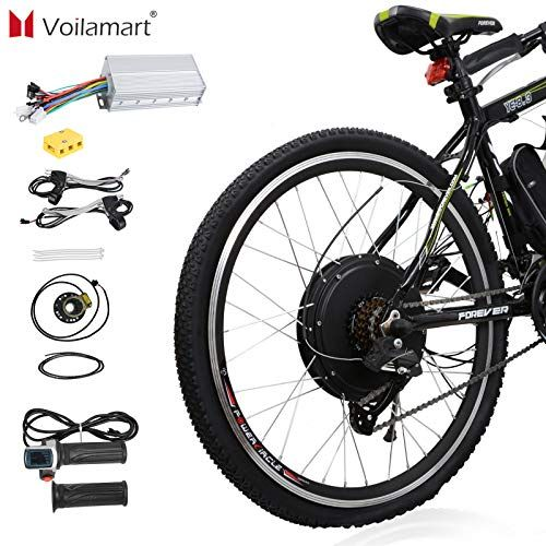 Voilamart 26 Rear Wheel Electric Bicycle Conversion Kit 48v