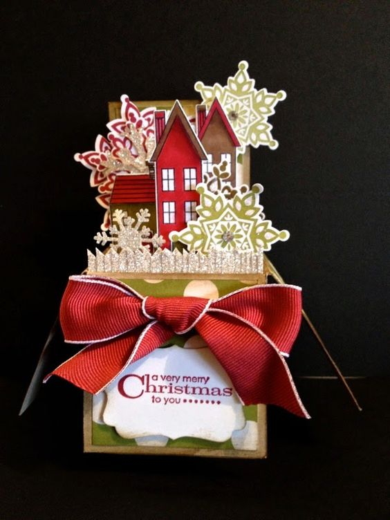 distINNKtive STAMPING designs: Christmas Card In A Box
